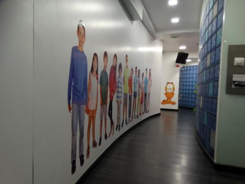 corredor de acesso odontopediatria